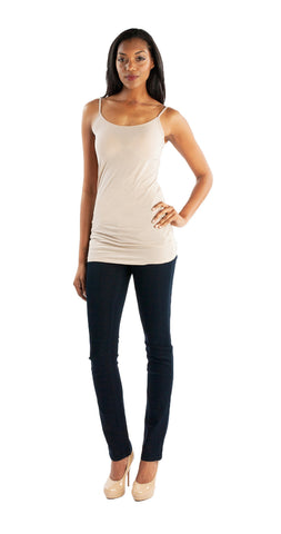 Splendid Layer Tank in Almond