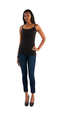 Splendid Layer Tank in Black