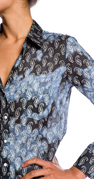 Velvet by Graham & Spencer Makelli Shirt in Ranch