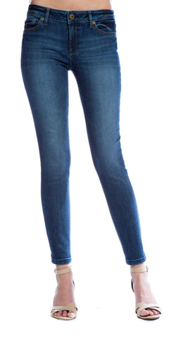 DL1961 Angel Mid Rise Skinny Ankle in Wall