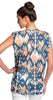 Velvet by Graham & Spencer Sonya Ikat Print Dolman Top