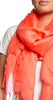 Love Quotes NYC Tassel Scarf in Coral Reef