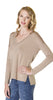 Splendid Dolman Top in Camel