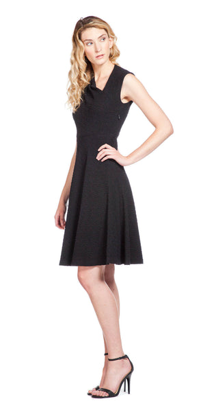Tracy Reese Side Pull Frock in Black