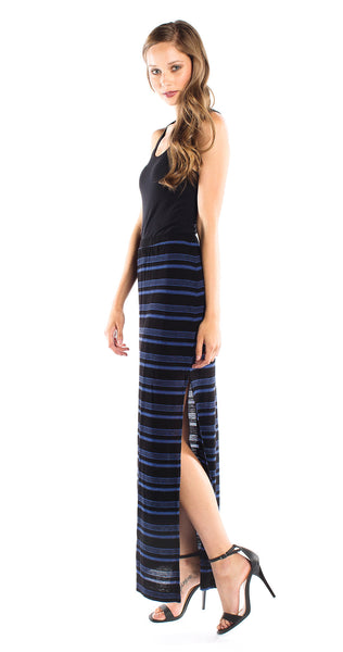 Splendid Blue Ridge Stripe Skirt