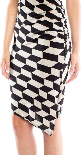 Tracy Reese Side Ruched Dress
