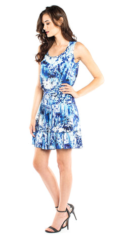 Nicole Miller Mason Blue Lagoon Dress