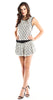 Tbags Los Angeles Crochet Sleeveless Top