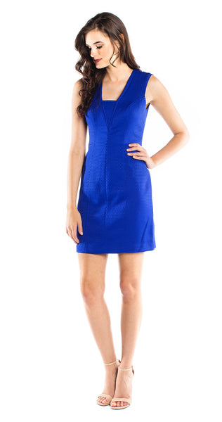 Shoshanna Pippa Dress in Klein Blue