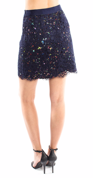 Shoshanna Lace Mini Skirt