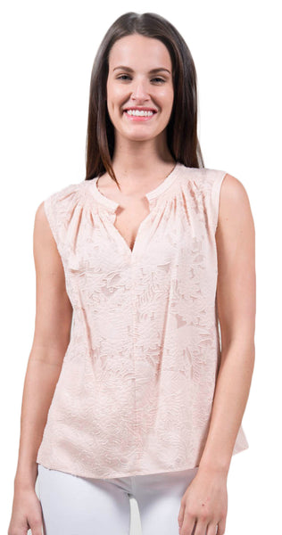 Rebecca Taylor Sleeveless Clip Top