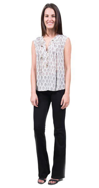Rebecca Taylor Sleeveless Valentina Top