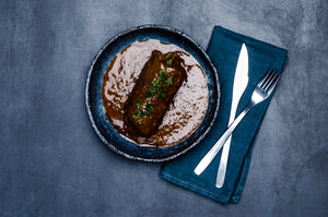 Rinderroulade in Sauce
