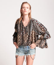 Load image into Gallery viewer, ONE TEASPOON Punk Python Sophisticated Savage Top