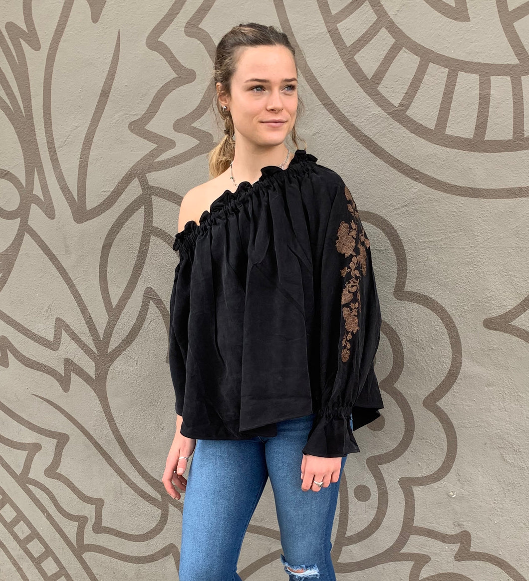 ONETEASPOON Florence Embroid Top