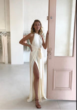 Load image into Gallery viewer, Shona Joy Lautner High Neck Jumpsuit cream