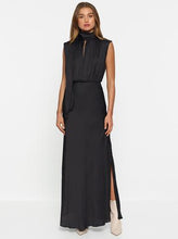 Load image into Gallery viewer, LUXE DELUXE Look Again High Neck Maxi Dress