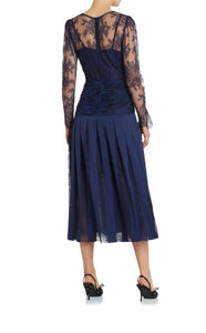 MOSS & SPY Florence Ruched Dress