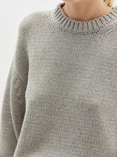 Load image into Gallery viewer, BASSIKE Chunky Crew Neck Knit