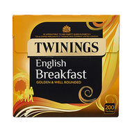 Twinings English Breakfast tea (50 teabags)