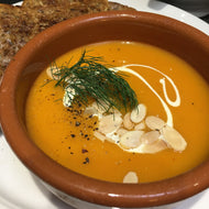 Tomato, Red Lentil & Thyme Soup