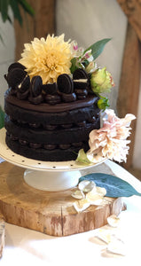 Rich chocolate fudge cake (VG)