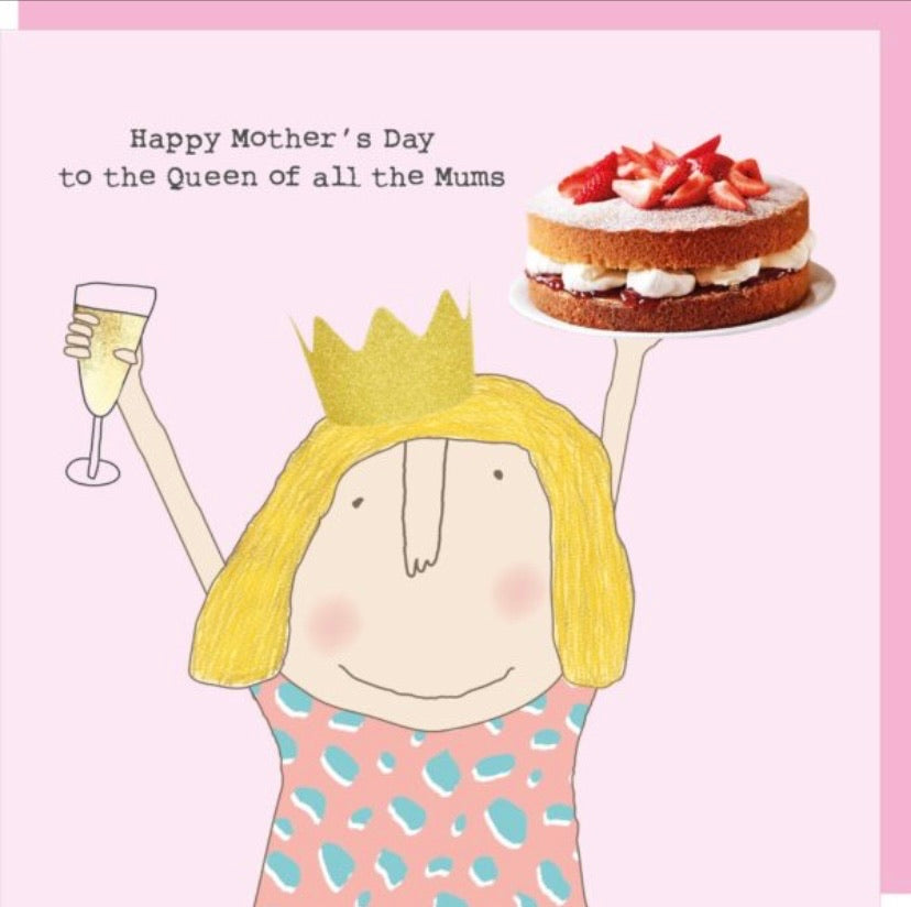 Mother's Day Card | Queen of all mums