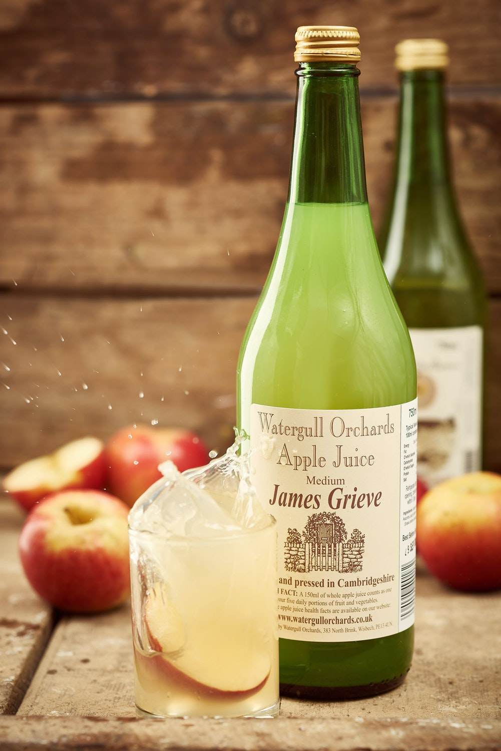 Watergull Cambs Apple Juice 75cl