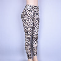 Shop2Go Leopard Print Activewear Leggings