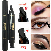 Shop2Go 2020 New Sexy Waterproof Double Head Black Wing Shape Eyeliner