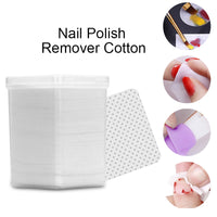Shop2Go Lint-Free White Gel Nail Polish Remover Cottons Wipes