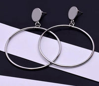 Shop2Go New Designer Symmetric Trendy Earrings