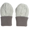 Olive Branch Mittens Grey