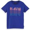 Blauw Artwork T-Shirt - Blue