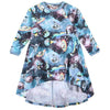 Hi Lo Raglan Dress - Girls in Space