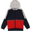 Zip Hooded Jacket - Navy