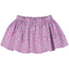 Gathered Skirt - Heart Stripe