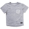 Pak Tee - Washed Grey