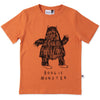 Boogie Monster Tee - Orange Marle
