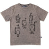 Juice Box Party Tee - Grey Wash