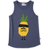 Undercover Pineapple Singlet - Midnight