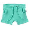 Deluxe Rib Short - Electric Mint