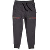 Ultimate Furry Trackies - Dark Grey/Red