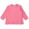 Plush Stripe Roomy Crew - Magenta