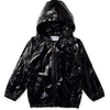 High Shine Anorak - Black Galaxy