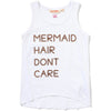 Mermaid Tank - White