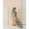 Seeds Off The Shoulder Onepiece - Rainforest