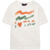 Rooster Kids - T-Shirt White Flag