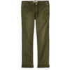 Washed Chinos Slim - Military