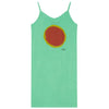 Gazel Kids Dress - Green Sun